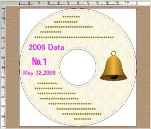 DVDのラベル