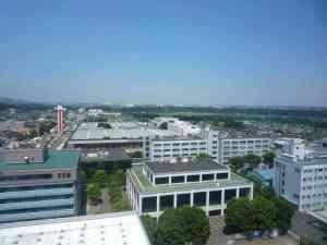厚木市内の風景
