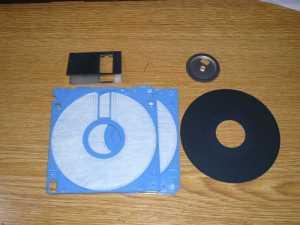 フロッピーディスクの解体
