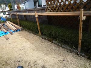 画像3(植木鉢の棚作り)