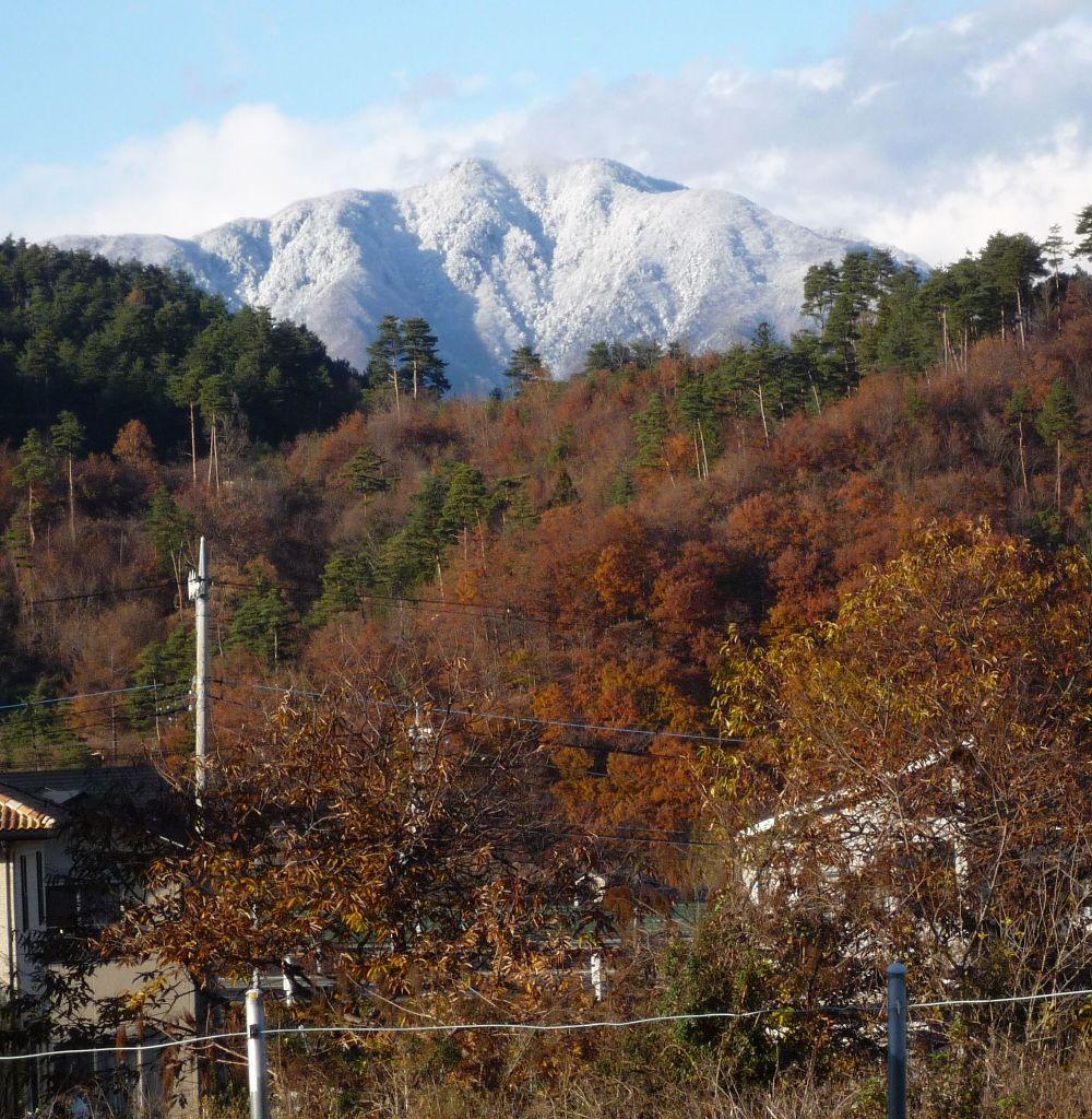 画像8(雪化粧をした近くの山)