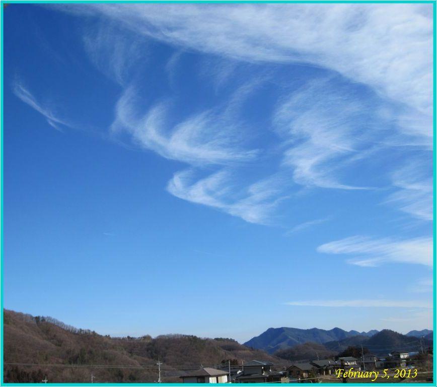 画像1(青空と雲)