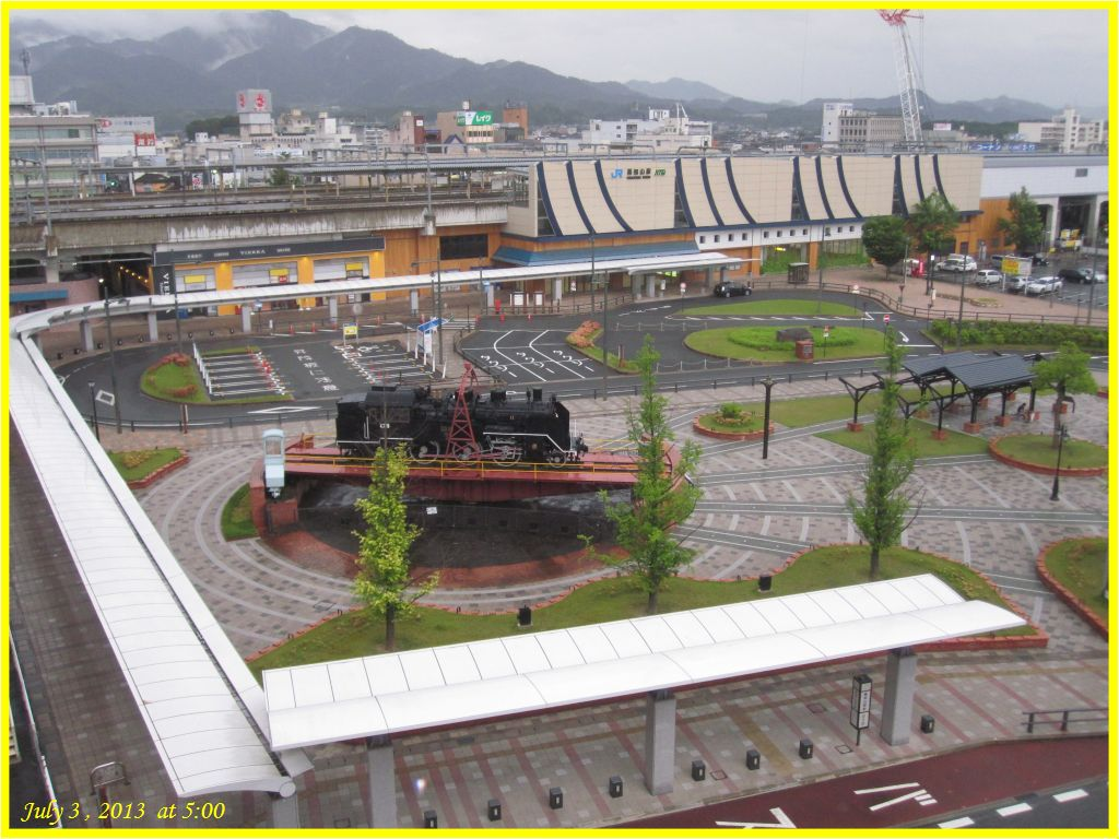 画像1(福知山駅南口ロータリー)