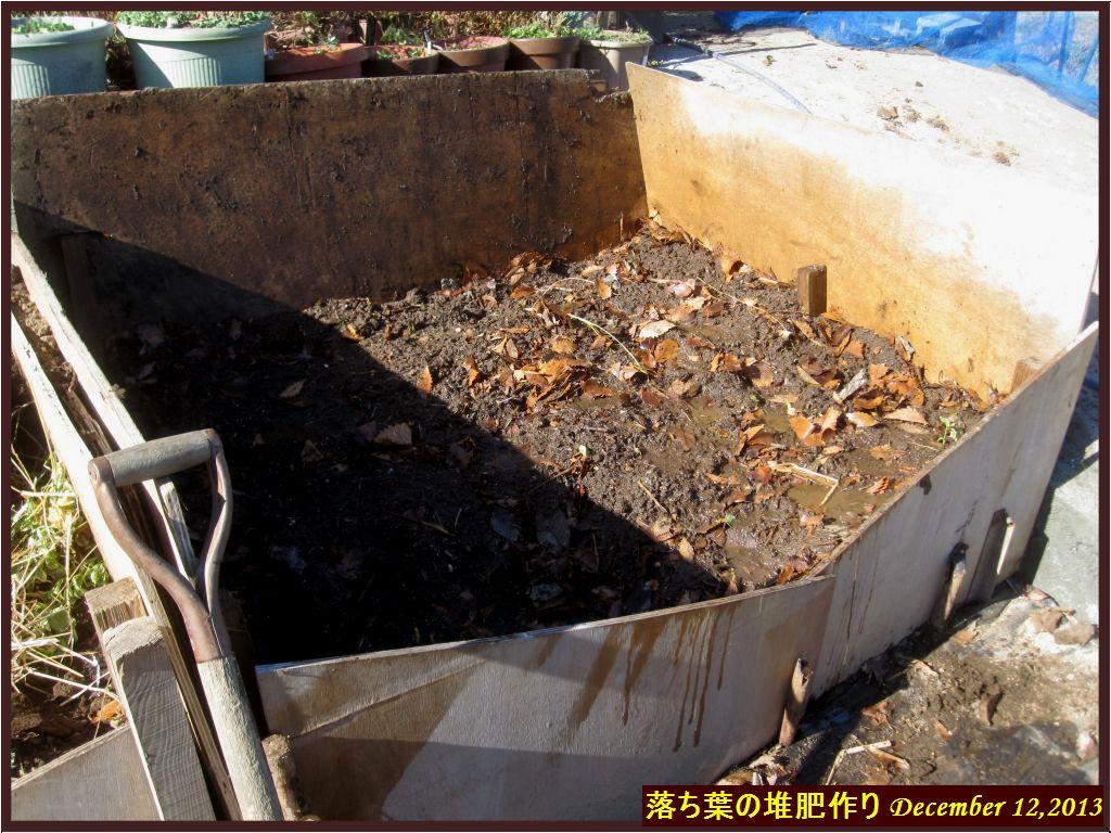 画像7(落ち葉の堆肥作り)
