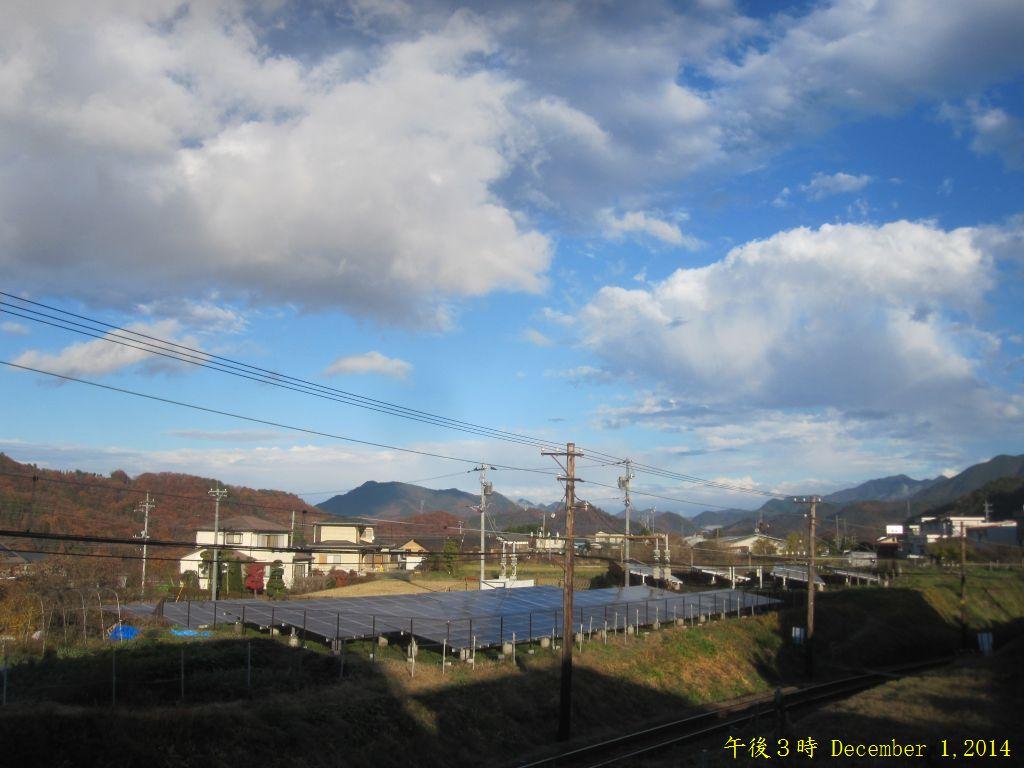 画像1(午後3時の風景)