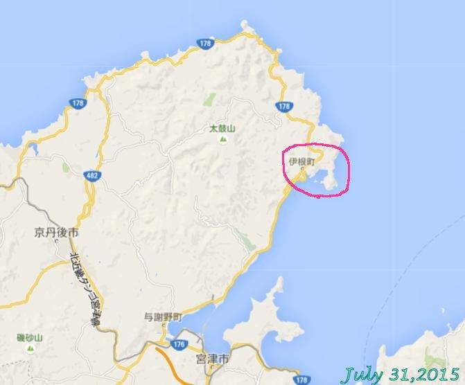 画像2(奥丹後浦半島地図)