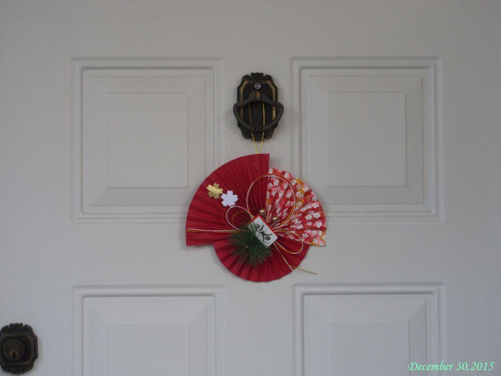 画像21(玄関ドアの飾りつけ)