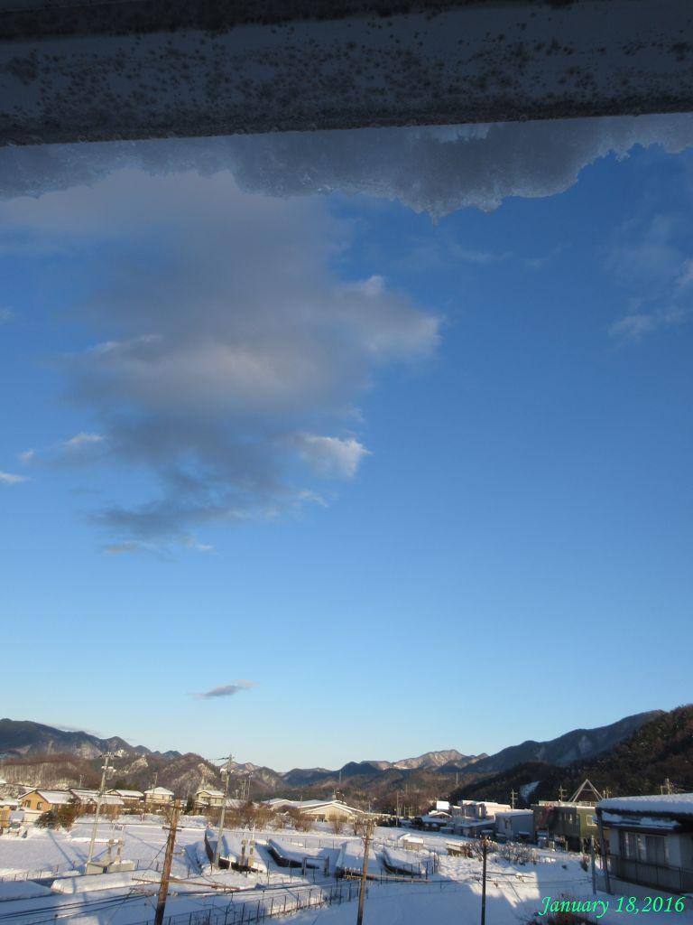 画像7(雪の一日16時頃)