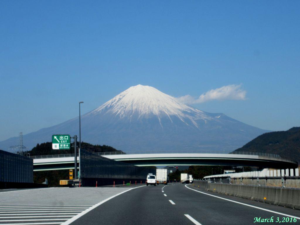 画像19(新東名 清水IC付近から見た富士山)