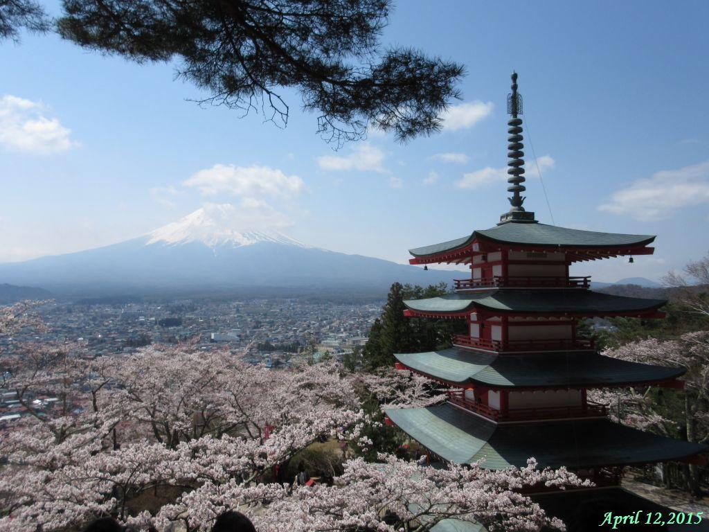 画像5(忠霊塔と富士山)