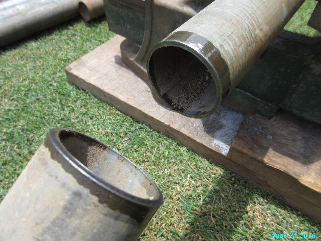 画像6(単管の切断)