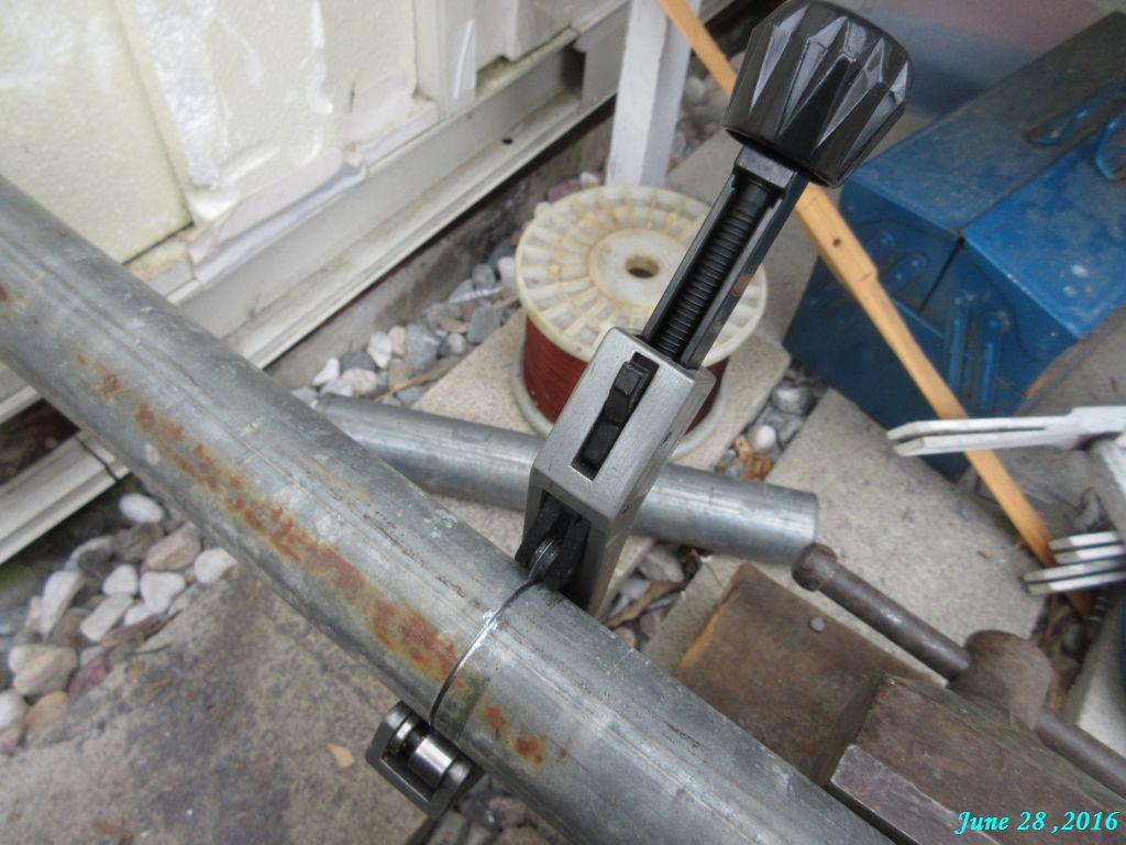 画像1(単管の切断)