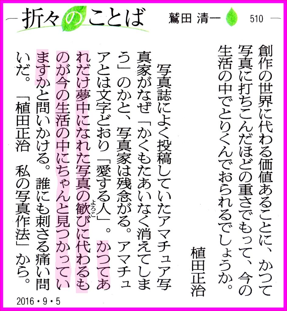 画像13(朝日新聞「折々のことば」)