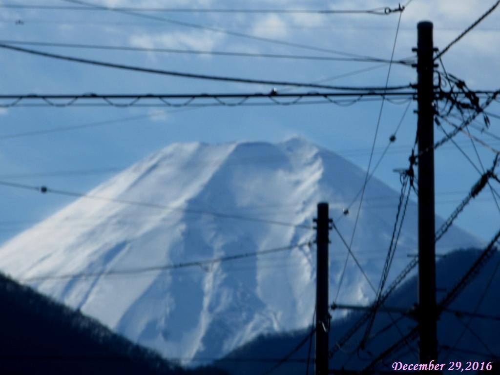 画像5(市内から見える富士山)