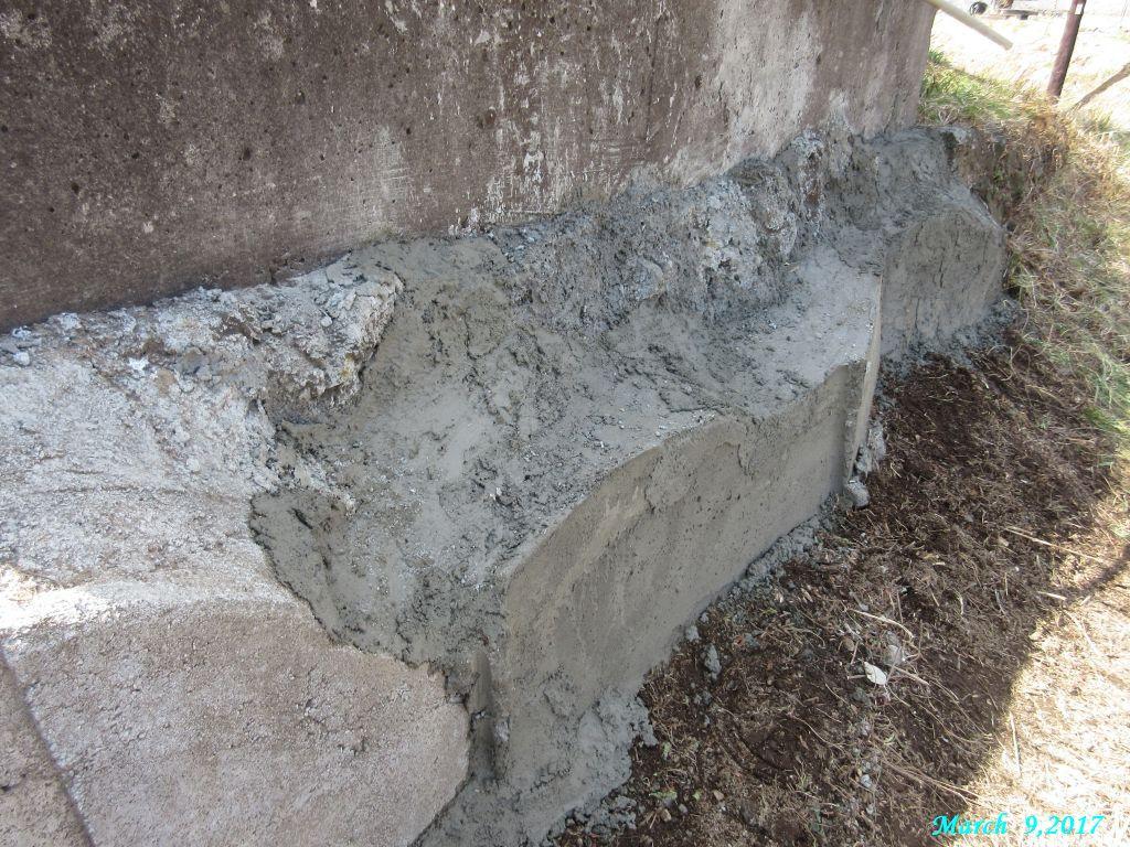 画像4(北側石垣の補強と修復)