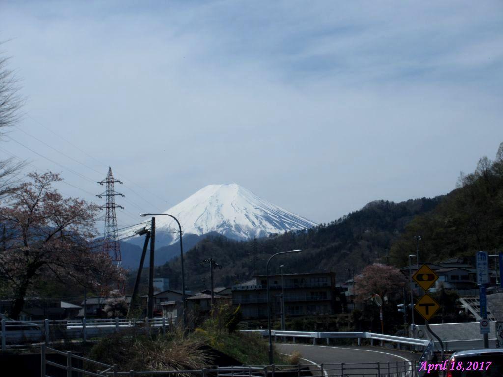 画像3(大月から見た富士山)