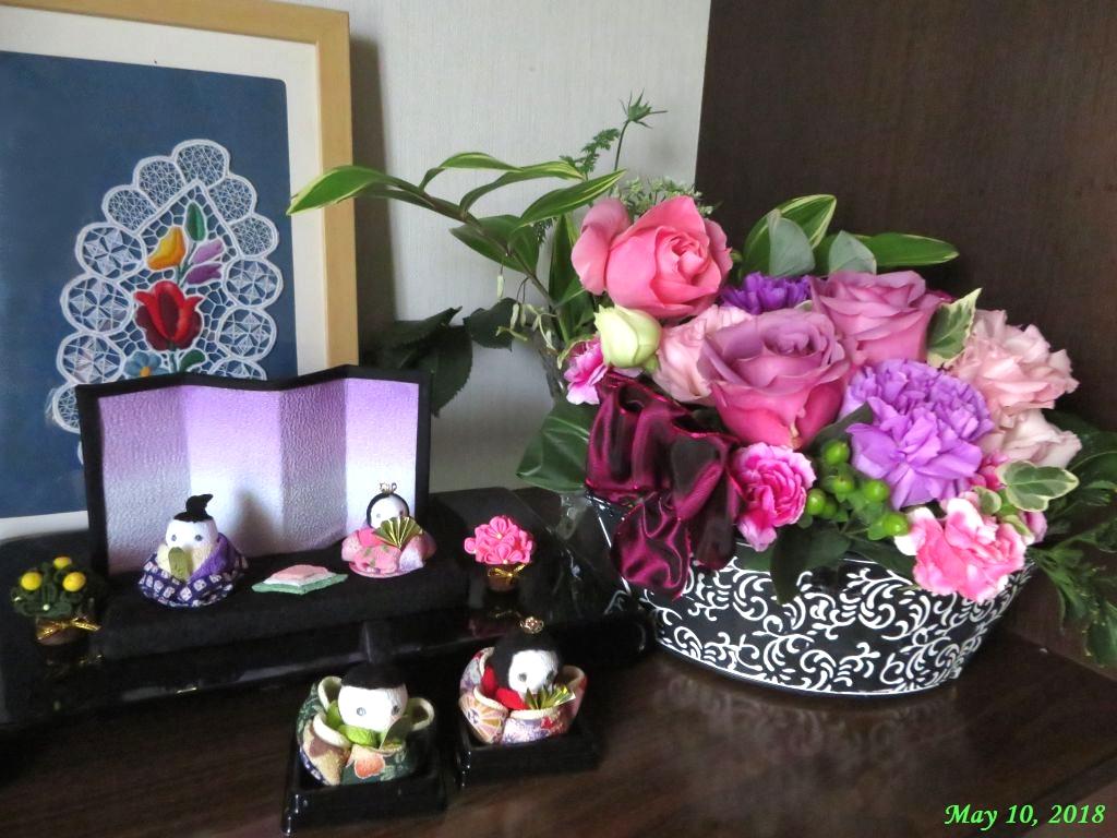 画像9(母の日のプレゼントとひな人形)