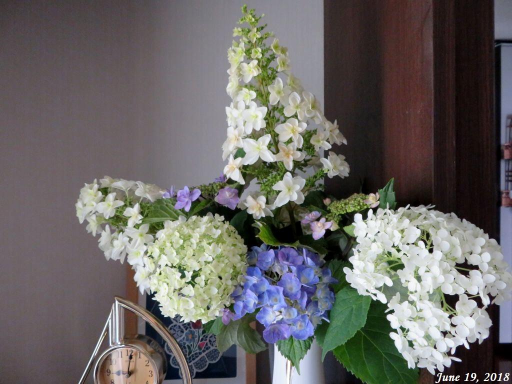 画像1(紫陽花の切り花)