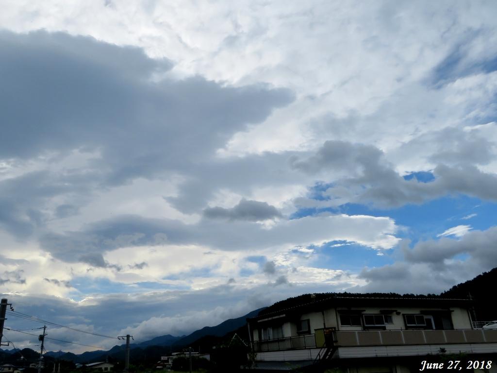 画像1(東の空)