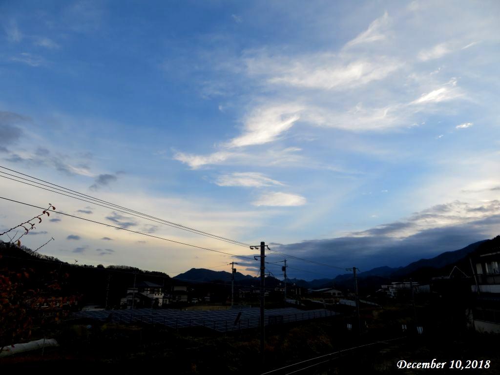 画像1(今朝の空)