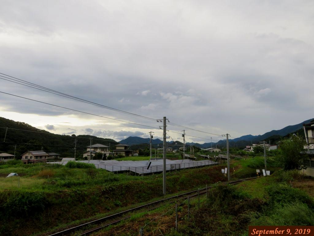 画像2(今朝の東の空)