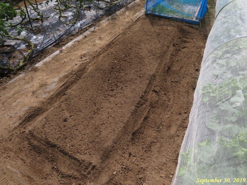 画像4(堆肥・肥料入れ・耕耘・畝立て)