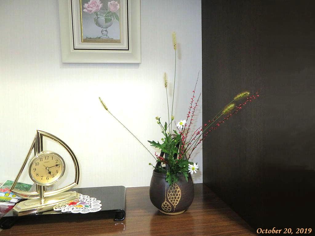 画像5(花瓶の草花)