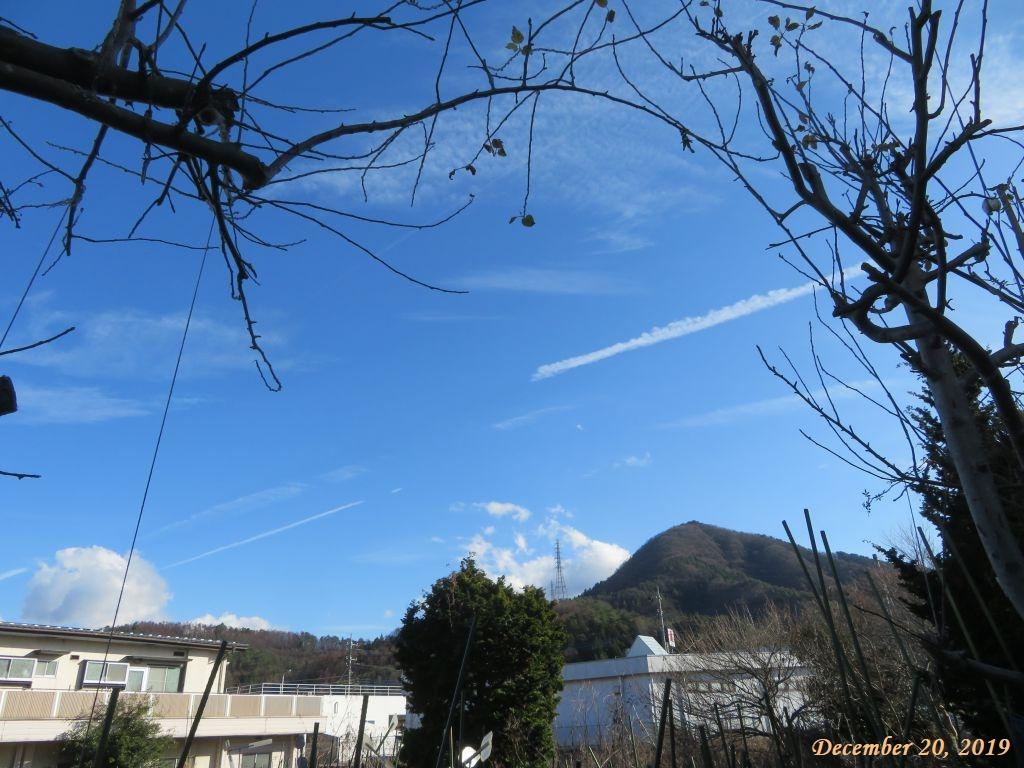 画像1(飛行機雲)