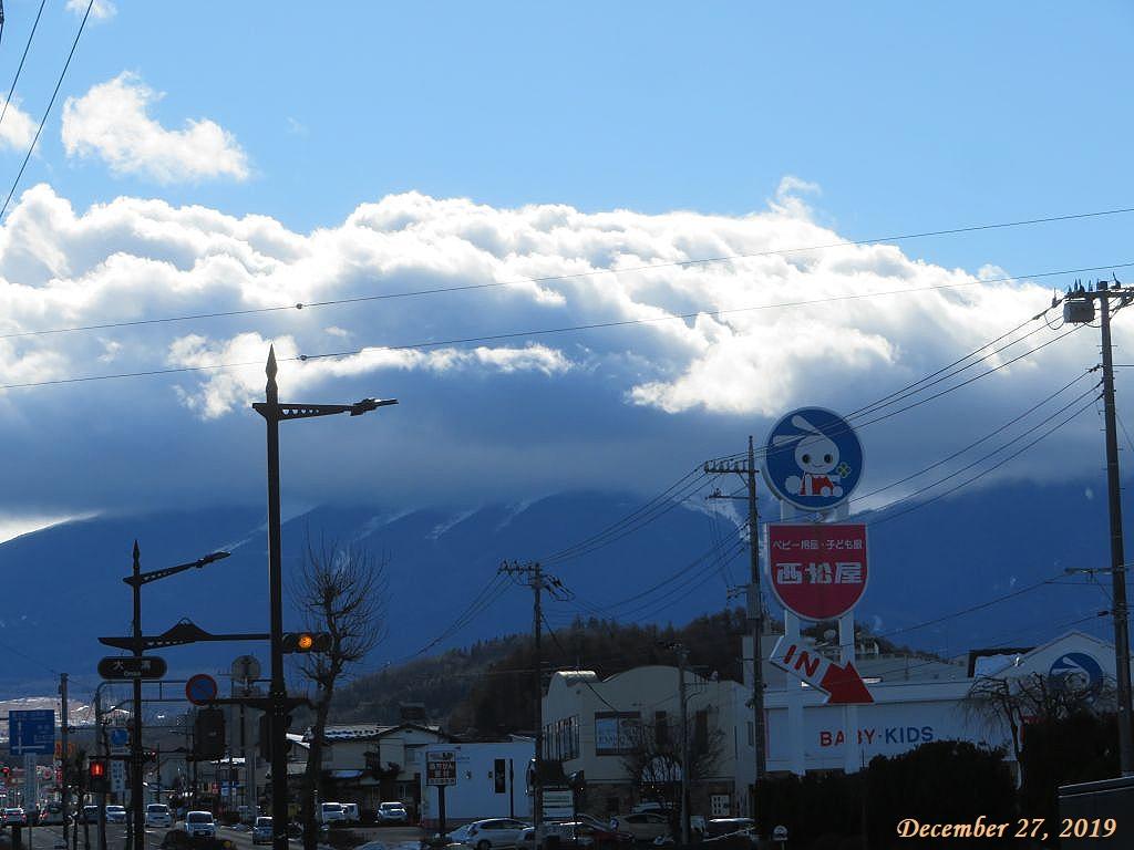 画像5(富士山にかかる雲)