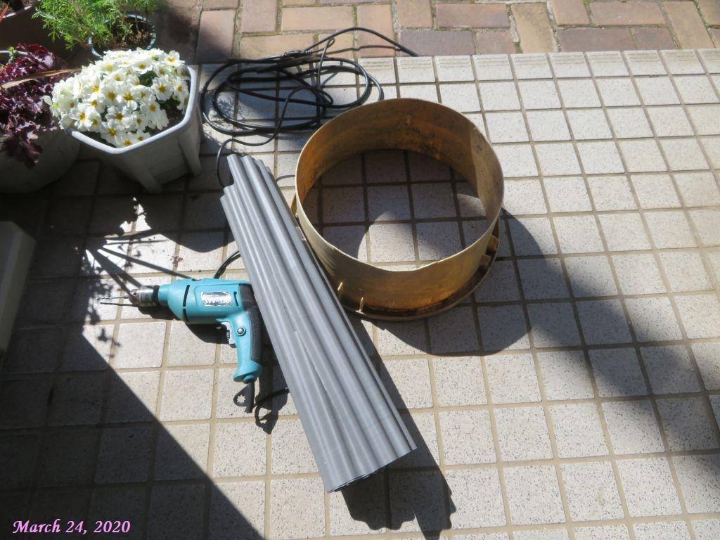 画像7(畦シートと漬け物桶)