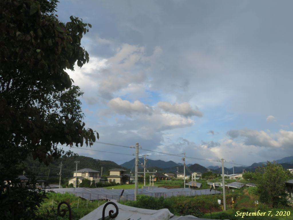 画像2(台風10号に伴う雲)