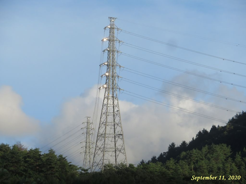 画像3(夕方の鉄塔)