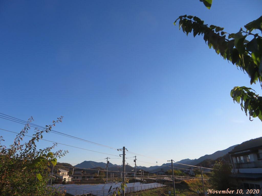 画像1(快晴の朝)