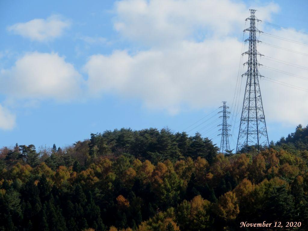 画像3(近くの山の紅葉)