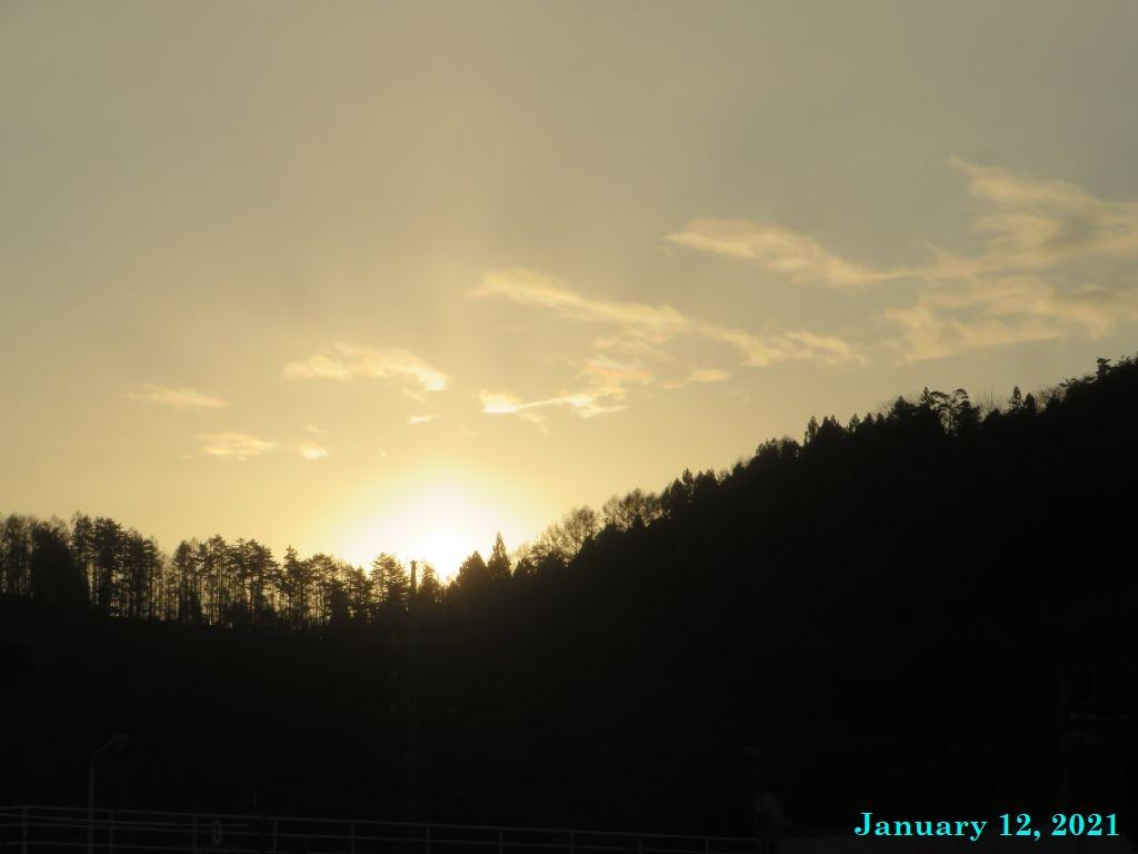 画像3(今朝の空)